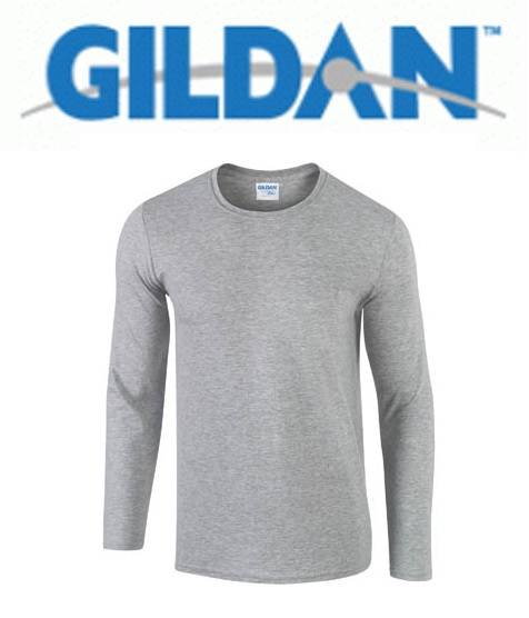 76400 Premium Cotton Long Sleeve Sport Grey