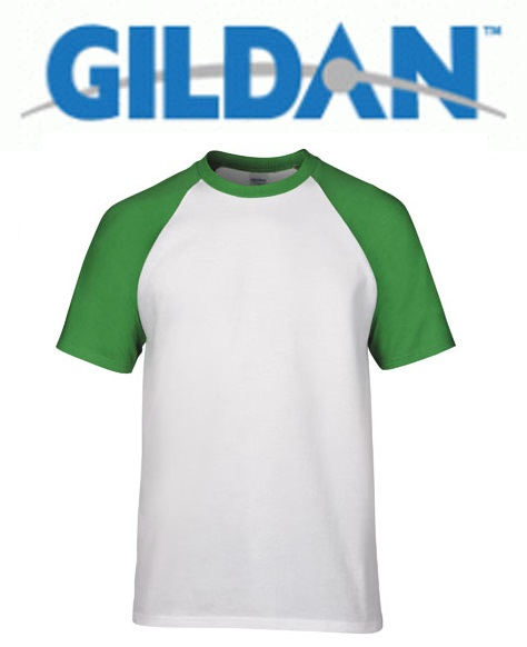 Raglan 76500 White Trim Irish Green