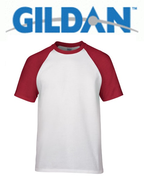Raglan 76500 White Trim Red